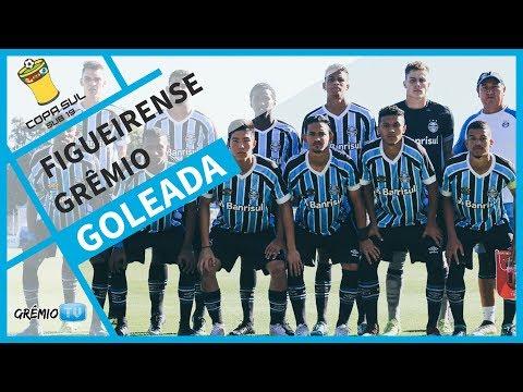 [GOLS] Figueirense 0x4 Grêmio (Copa Sul Sub-19)  l GrêmioTV