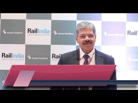 Dedicated Freight Corridor | Mr Anurag Sachan | Rail India Conference & Expo | 2019
