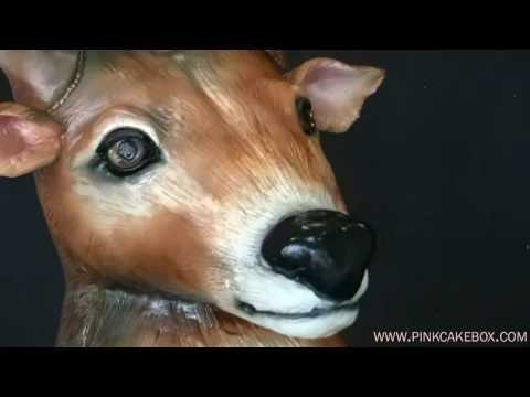 50th Birthday Deer Cake
