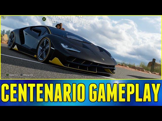 Forza Horizon 3 Gameplay Lamborghini Centenario QA W Developers Part 1