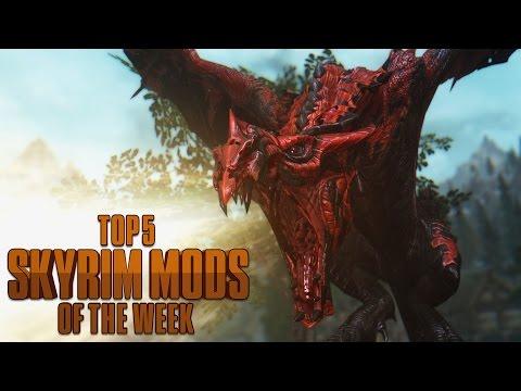 How to be a Superhero in Skyrim - Top 5 Skyrim Mods of the Week