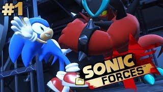 НАЧИНАЕМ | Прохождение Sonic Forces #1