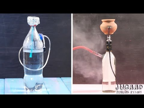 2 Ways To Homemade Hookah With Bottle
