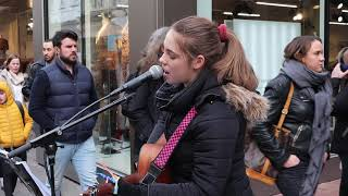 &quotNothing breaks like a heart&quot Miley Cyrus Allie Sherlock cover