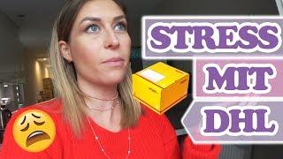 ALLES BLOCKIERT!! Stress mit DHL - Follow me around VLOG