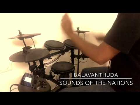 Balavanthuda - Sounds Of The Nations India (Mini Drum Cover)