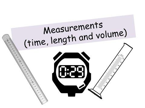Measurements - IGCSE Physics
