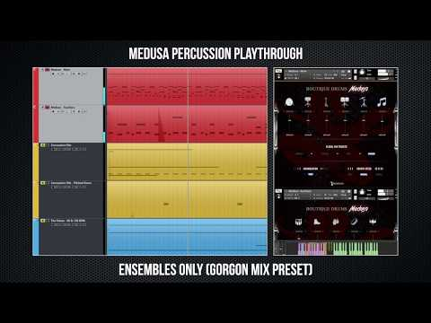 Medusa Percussion Playthrough