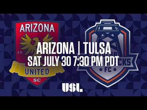 WATCH LIVE: Arizona United SC vs Tulsa Roughnecks FC 7-30-16