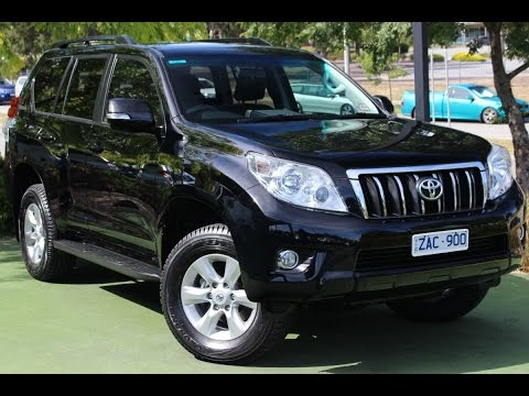 B6044   2012 Toyota Landcruiser Prado GXL Auto 4x4 Walkaround Video