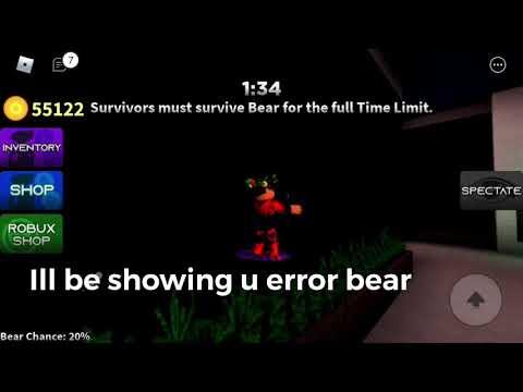 Error Bear SECRET (bear Alpha)