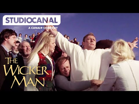 THE WICKER MAN's Most Iconic Scenes - Starring Christopher Lee
