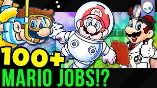 How Many Jobs has Super Mario Had? | Gnoggin