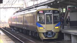 泉北12000系 特急泉北ライナー 難波行き 堺東駅通過