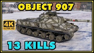 World of Tanks | Object 907 - 13 Kills - 8,2K Damage - 1 VS 7