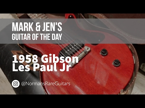 Norman's Rare Guitars - Guitar of the Day: 1958 Gibson Les Paul Jr.