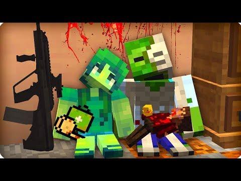 😭Они держались как могли [ЧАСТЬ 91] Зомби апокалипсис в майнкрафт! - (Minecraft - Сериал)