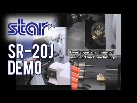 Star Micronics: SR-20J Type N Sliding Head Lathe Demonstration
