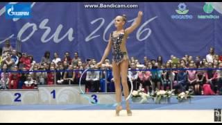 Алина Ермолова - обруч // Чемпионат России, Сочи 2016
