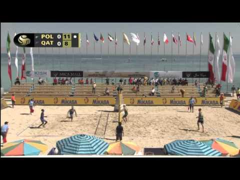 Losiak/Kantor vs Jefferson/Cherif (Semifinals) KISH ISLAND OPEN 2016