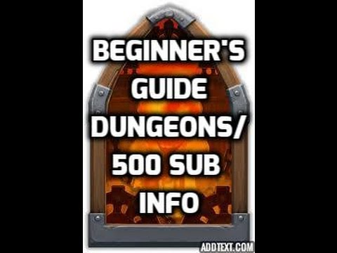Castle Clash Beginner's Guide Dungeons/500 Sub Info