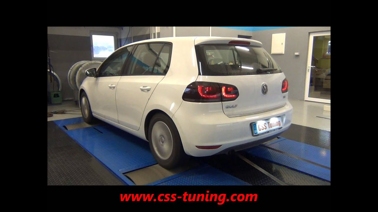 css performance vw golf 6 1 2 tsi 105 hp youtube. Black Bedroom Furniture Sets. Home Design Ideas