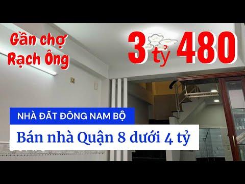 Chính chủ Bán nhà hẻm Nguyễn Thị Tần Quận 8, gần cầu Chữ Y, chợ Rạch Ông