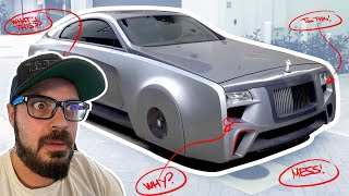 I fix Justin Bieber's one off Rolls Royce Wraith