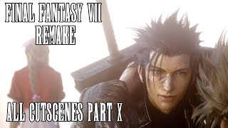 All Cutscenes in 4K - Part 10/10 | Final Fantasy 7 Remake | HEAVY SPOILERS