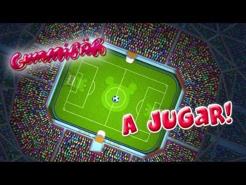 Gummibär - A Jugar! - World Cup Soccer/Football Song - Spanish - Gummy Bear -...