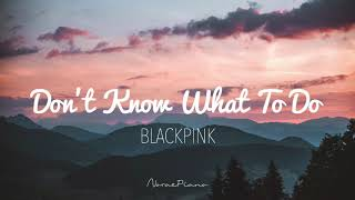 Gambar cover BLACKPINK (블랙핑크) - Don't Know What To Do Piano Cover