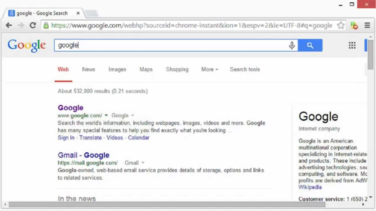 how to get toolbar on google
