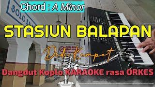 STASIUN BALAPAN - Didi Kempot Versi Dangdut Koplo KARAOKE rasa ORKES Yamaha PSR S970