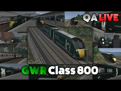 TS 2017 - GWR Class 800: Paignton to Exeter St. Davids - QA LIVE