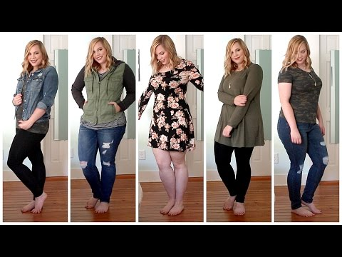 FALL Plus Size Try On Haul  Charlotte Russe, Forever 21, Target & More!