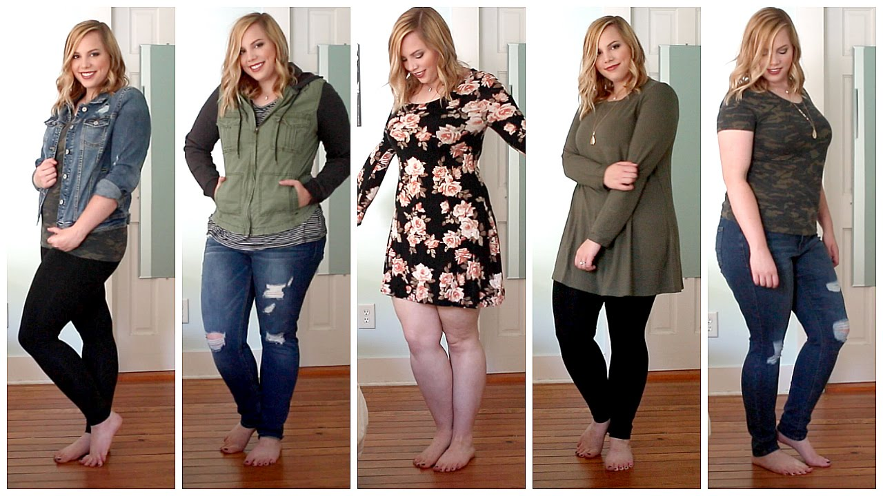 fall plus size try on haul | charlotte russe, forever 21, target