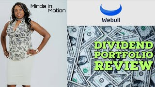 Dividend Stock Portfolio -Dividend Growth Investing (Webull App Review)