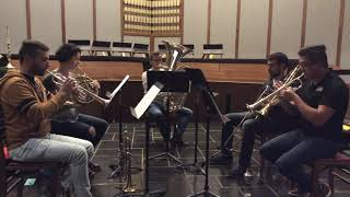 N.E.O. SOUND Call for Scores Brass Quintet Reference Recording