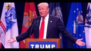 Donald Trump Slams Hillary Clinton, Calls Crooked Hillary at San Diego Rally   Mango News 2017 Video