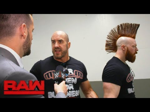 Cesaro & Sheamus take issue with Braun Strowman's Battle Royal win: Raw Exclusive, March 12, 2018