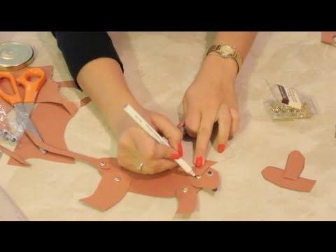 craft ideas for split pin dogs diy craft tips youtube. Black Bedroom Furniture Sets. Home Design Ideas