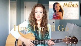 Disney's Moana - How Far I'll Go - Feat. Alessia Cara - (Alani Claire cover)