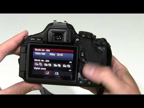 Canon EOS Rebel T3i How to Change Video Setting - YouTube