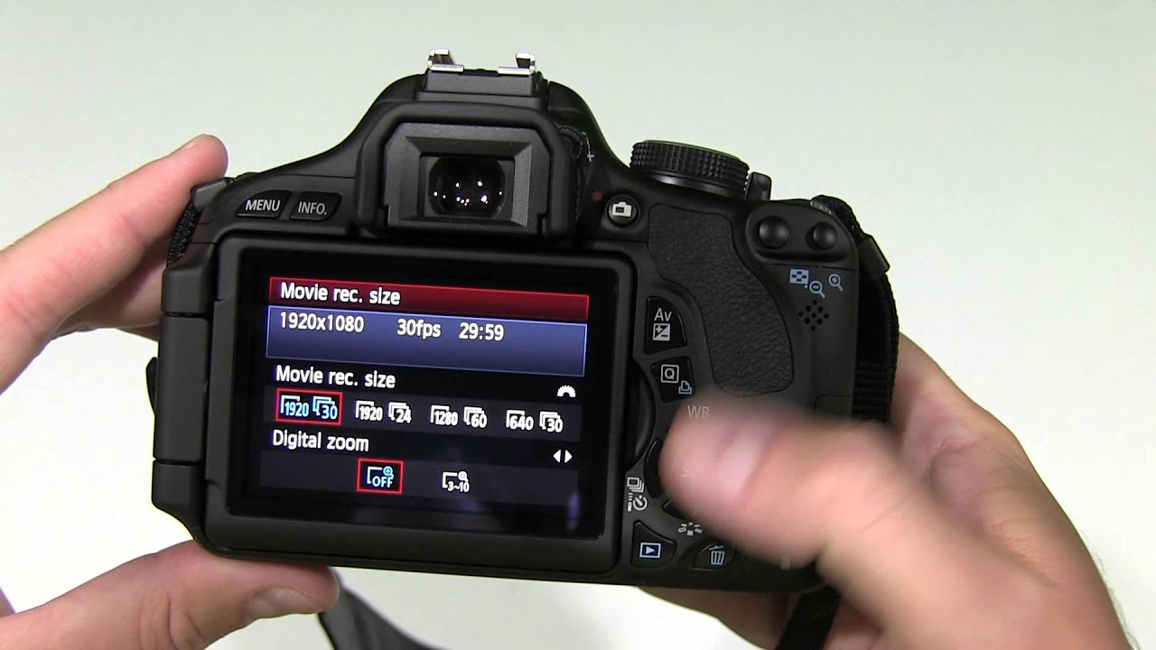 canon eos rebel t3i how to change video setting youtube rh youtube com Canon EOS Rebel Manual Canon EOS Rebel T3i Manual