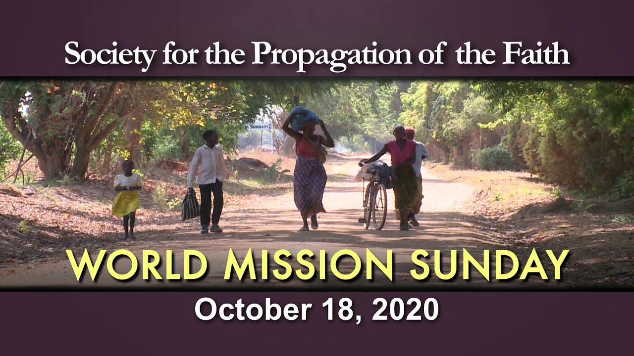 World Mission Sunday 2020 - YouTube