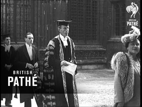 King & Queen Open Bodleian Library (1946)