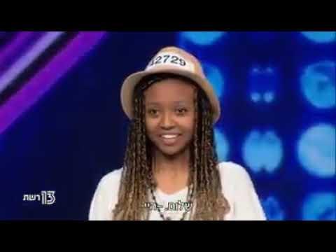Ethiopia Girl Israel X Factor Nice Performance Ethiopian X Factor19 Oct 2017 אתיופית סקסית שרה  מעלף