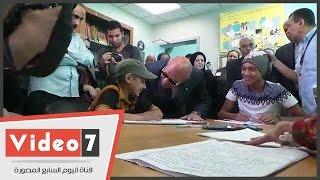 تأخر ورقة الامتحان علي طالبة بمستشفي 57375 لمدة ساعة ونصف ومحافظ القاهرة يأمر بسرعة أحضارها