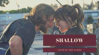 Shallow Bradley Cooper Lady Gaga Lyrics Video Ardi x Nida Cover Piano version