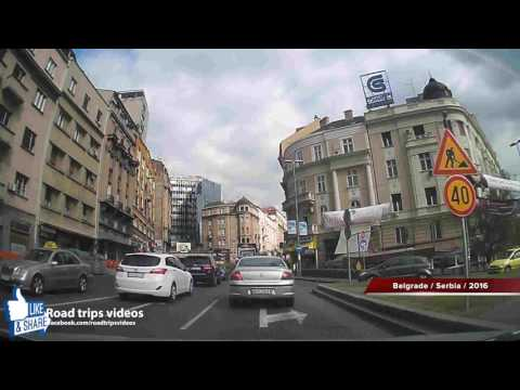 ROAD TRIP: driving in BELGRADE / SERBIA 2016